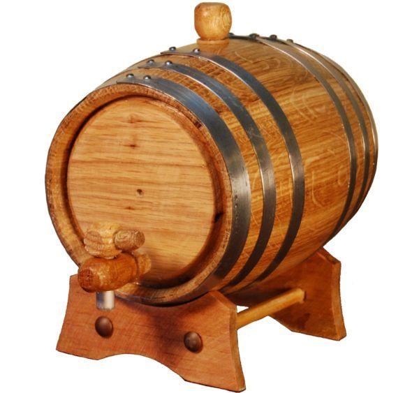 Barril de madera de roble americano para añejar vino, whisky, cerveza, licores