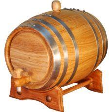 Barril de madera de roble americano 2 litros