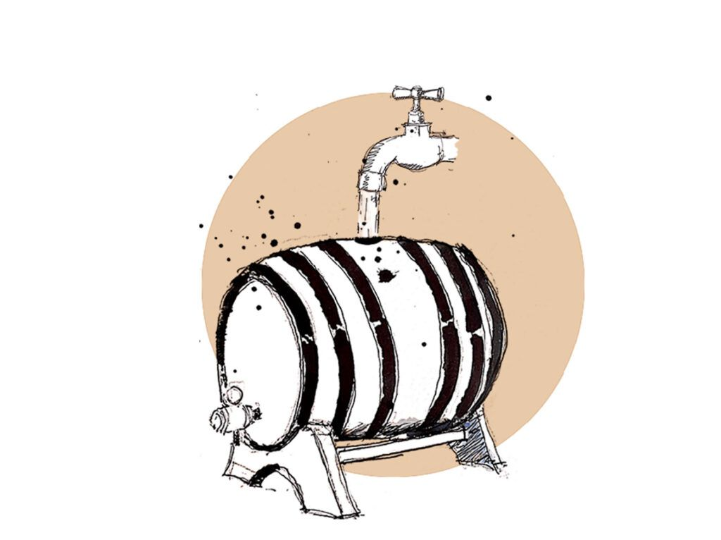 Hinchado-de-barril